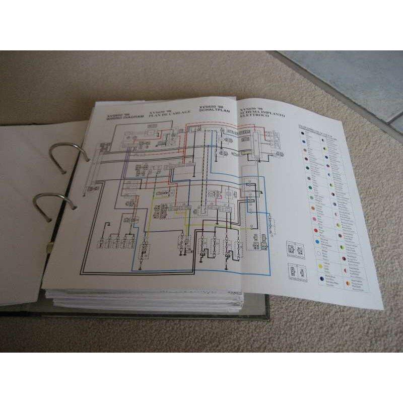 Fantastisch Yamaha R1 Schaltplan Fotos - Der Schaltplan ...